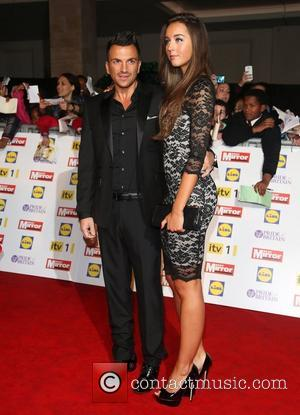 Peter Andre, Emily Macdonagh and Grosvenor House