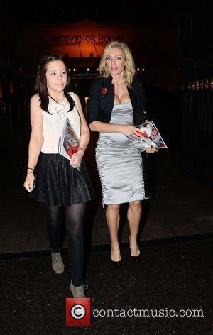 Nell McAndrew leaving The Daily Mirror Pride of Britain Awards 2012 held at Grosvenor House hotel  London, England -...