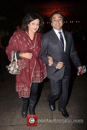Sanjeev Bhaskar And Meera, Syal and Grosvenor House