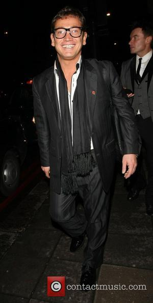 Sid Owen leaving The Daily Mirror Pride of Britain Awards 2012 held at Grosvenor House hotel  London, England -...