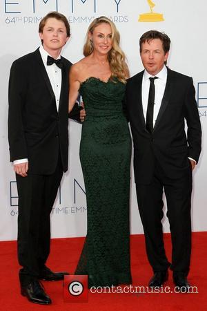 Sam Fox, Tracy Pollan and Michael J. Fox 64th Annual Primetime Emmy Awards, held at Nokia Theatre L.A. Live -...