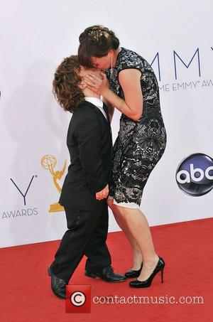 Erica Schmidt, Peter Dinklage  64th Annual Primetime Emmy Awards, held at Nokia Theatre L.A. Live - Arrivals Los Angeles,...
