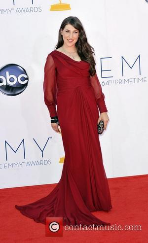 Mayim Bialik  64th Annual Primetime Emmy Awards, held at Nokia Theatre L.A. Live - Arrivals Los Angeles, California -...