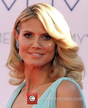 Heidi Klum 64th Annual Primetime Emmy Awards, held at Nokia Theatre L.A. Live - Arrivals Los Angeles, California - 23.09.12