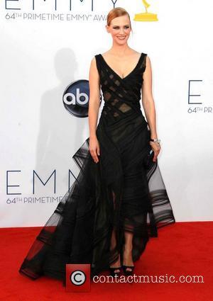 January Jones and Emmy Awards