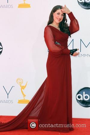 Mayim Bialik 64th Annual Primetime Emmy Awards, held at Nokia Theatre L.A. Live - Arrivals Los Angeles, California - 23.09.12