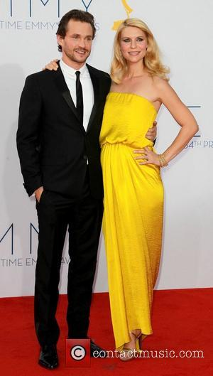Hugh Dancy and a pregnant Claire Danes 64th Annual Primetime Emmy Awards, held at Nokia Theatre L.A. Live - Arrivals...