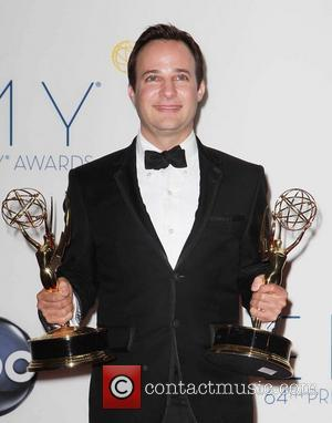 Danny Strong  64th Annual Primetime Emmy Awards, held at Nokia Theatre L.A. Live - Press Room Los Angeles, California...