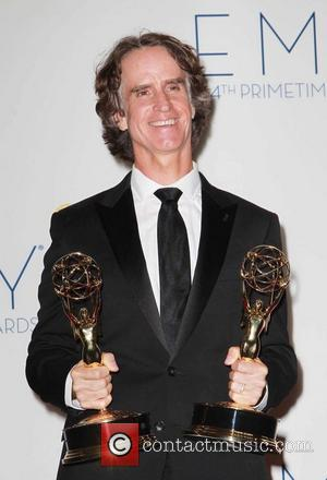 Jay Roach  64th Annual Primetime Emmy Awards, held at Nokia Theatre L.A. Live - Press Room Los Angeles, California...