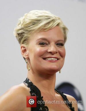 Martha Plimpton  64th Annual Primetime Emmy Awards, held at Nokia Theatre L.A. Live - Press Room Los Angeles, California...
