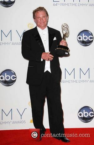 Tom Berenger  64th Annual Primetime Emmy Awards, held at Nokia Theatre L.A. Live - Press Room Los Angeles, California...