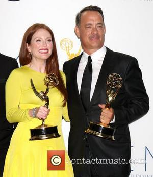 Julianne Moore and Tom Hanks
