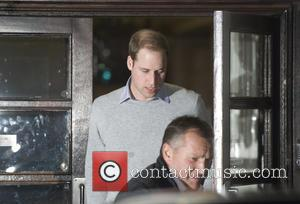Prince William, The Duke, Cambridge, King Edward, Hospital, Central London and The Duchess