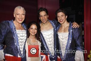 Gloria Estefan, Nick Adams and Palace Theatre