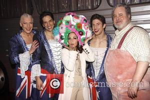 Gloria Estefan, Adam Lefevre, Nick Adams and Palace Theatre