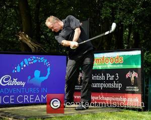 Bobby Davro Farmfoods British Par Three Pro AM Celebrity Golf competition being held at Nailcote Hall - Day 2...