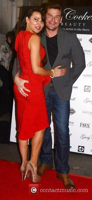 Lizzie Cundy and Phil Turner