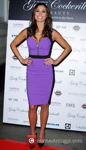 Melanie Sykes Pro Lashes by Gary Cockerill Beauty launch at Charles Fox Kryolan - Arrivals London, England - 29.11.12