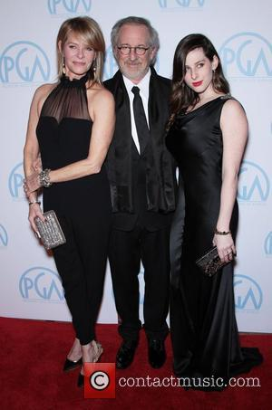 Steven Spielberg, Kate Capshaw and daughter Sasha Spielberg The 23rd Annual Producers Guild Awards held at The Beverly Hilton Beverly...