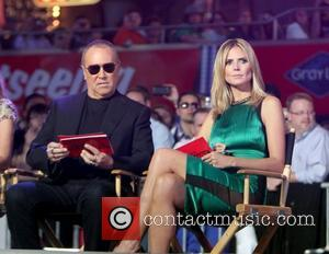 Michael Kors, Heidi Klum and Times Square