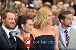 Noomi Rapace, Charlize Theron, Logan Marshall-green and Michael Fassbender