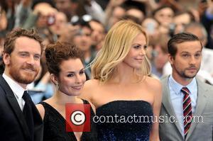 Noomi Rapace, Charlize Theron, Logan Marshall-green and Michael Fassbender