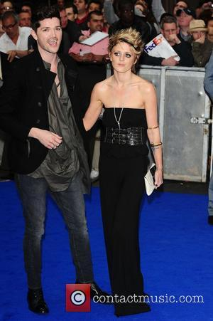 Danny O'Donoghue and Bo Bruce at the 'Prometheus' UK film premiere held at the Empire Leicester Square - Arrivals. London,...
