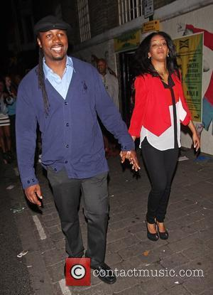 Lennox Lewis and wife Violet Chang Puma party held at the Puma Yard in Brick Lane - departures London, England...