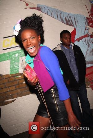 Shingai Shoniwa of The Noisettes Puma party held at the Puma Yard in Brick Lane - departures London, England -...