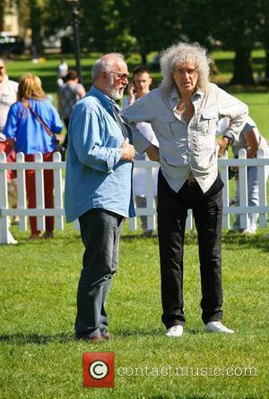 Brian May Celebrities attend the Pup Aid 2012 held on Primrose Hill London, England - 08.09.12