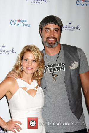 Candance Cameron Bure, Victor Webster  The Hallmark Channel 'Puppy Love' private reception at La Piazza at The Grove Los...