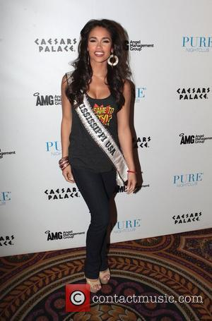 Miss Mississippi USA, Myverick Garcia  at Pure Nightclub inside Caesars Palace Las Vegas, Nevada - 27.05.12,