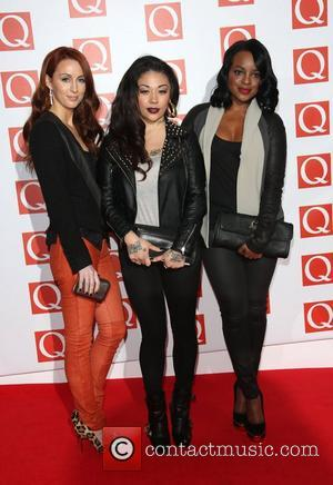 Sugababes The Q Awards 2012 held at the Grosvenor hotel - Arrivals London, England - 22.10.12
