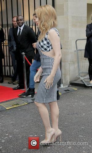Kylie Minogue and Grosvenor House
