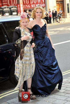 Vivienne Westwood and Lily Cole