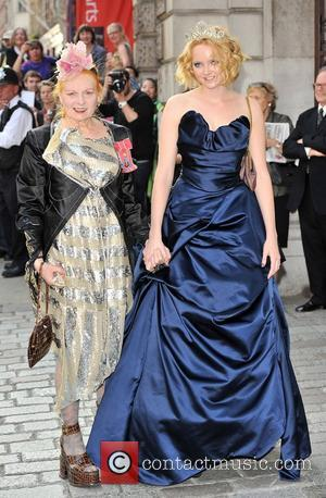 Lily Cole and Vivienne Westwood