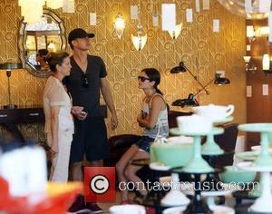 Rachel Bilson and boyfriend Hayden Christensen visit furniture stores in Culver City Los Angeles, California - 14.07.12