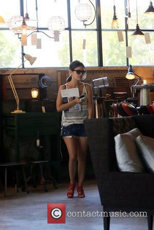 Rachel Bilson visits furniture stores in Culver City Los Angeles, California - 14.07.12