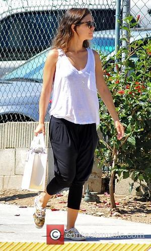 Rachel Bilson  seen out and about holding a health drink Los Angeles, California - 20.07.12