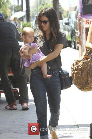 Rachel Bilson is seen out and about with a friend in Hollywood Los Angeles, California - 11.06.12