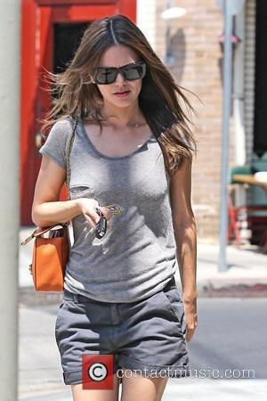 Rachel Bilson  seen out and about after having lunch at Little Doms in Los Feliz  Los Angeles, California...