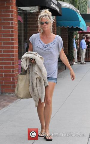 Rachel Hunter seen leaving the doctors office in Beverly Hills Los Angeles, California - 12.06.12