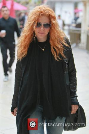 Rachelle Lefevre  spending the day at The Grove Los Angeles, California - 16.03.12