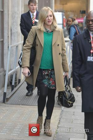 Fearne Cotton at the BBC Radio 1 studios London, England - 16.10.12