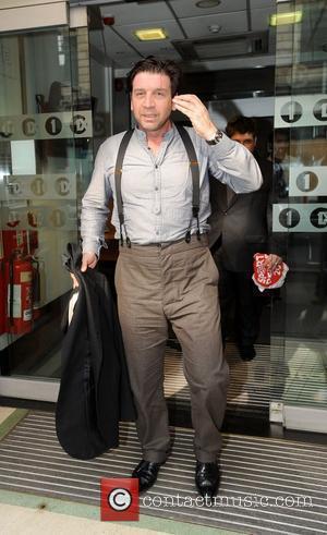 Nick Knowles Sport Relief celebrities outsie the BBC Radio 1 studios Londo, England - 22.03.12
