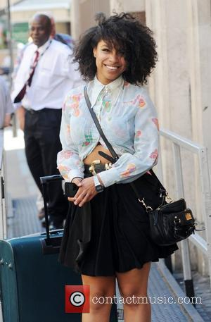 Lianne La Havas outside the BBC Radio One studios London, England - 24.07.12
