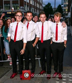 Tom Fletcher, Harry Judd, Danny Jones and Dougie Poynter