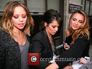 Kimberly Walsh, Cheryl Cole, Nadine Coyle, Girls Aloud, Radio, London, England and Mandatory