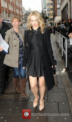 Rachel McAdams outside the the BBC Radio 1 studios London, England - 18.01.12