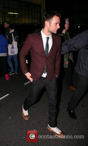 Harry Judd McFly at the BBC Radio 1 studios London, England - 18.11.12